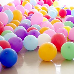 Ballons latex pour événements à Mons et Charleroi (Thuin)