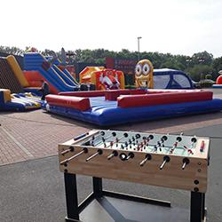 Jeux et divertissements pour événements à Mons et Charleroi (Thuin)