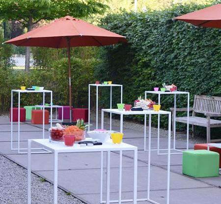 Location de mobilier de réception à Mons et Charleroi (Thuin)